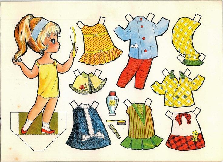 Inspirational mu ecas recortables paper dolls bambole da carta poup es en papier