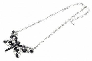 Rhodium Metal Assorted Beads Butterfly Pendant   Don't Forget your discount code FB10 to get 10% off your 1st order