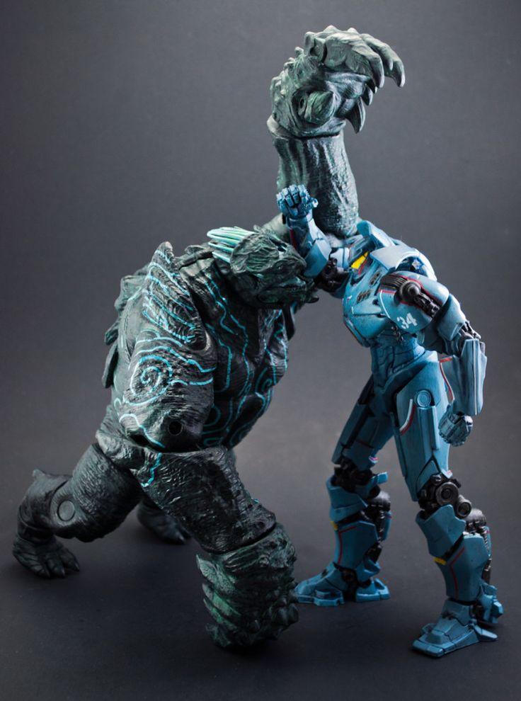 The Leatherback Kaiju Action Figure | Pacific Rim | Pinterest