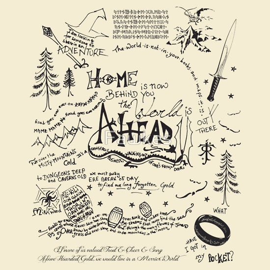 The Hobbit Quotes - I NEED THIS SHIRT