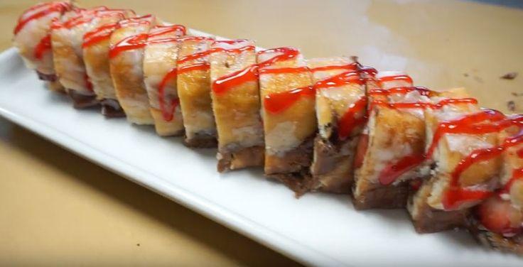 Epic Dessert Sushi Roll
