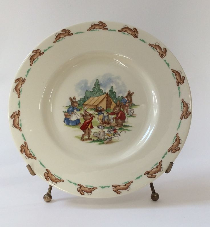 Vintage Royal Doulton Bunnykins C& Site Salad Plate & The 36 best Bunnykins - Royal Doulton images on Pinterest | Royal ...