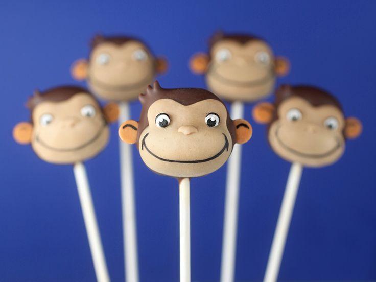 Curious George Cake Pops « bakerella.com