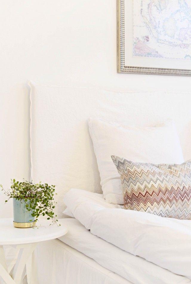 Ny sänggavel och sköna lakan | Drömhus | Sköna Hem