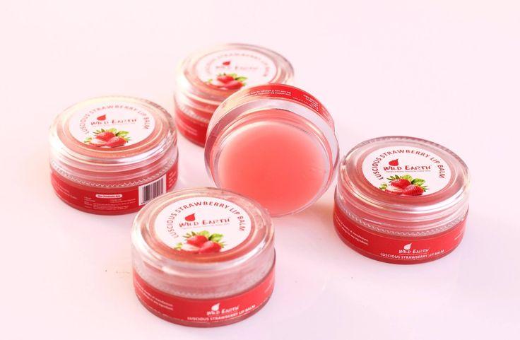 Wild Earth Strawberry Lip Balm