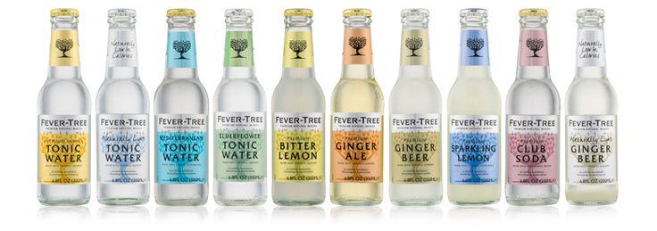 Fever Tree 200mL Tonic Bitter Lemon & Ginger Beer Mixers