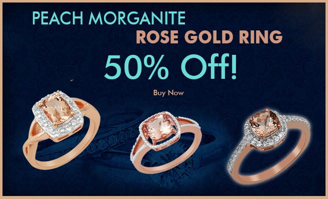 Peach Morganite Rose Gold Ring  Buy peach #morganite #rosegold #ring Online at shreeprakashgem.com. ON SALE TODAY! 50% Off! #peachmorganite rose gold ring and #diamondring is going fast. Get it while you can. We offer a variety of cuts and carats to personalize your own #rosegoldring or #jewelry piece. Visit our website for more details www.shreeprakashgem.com.