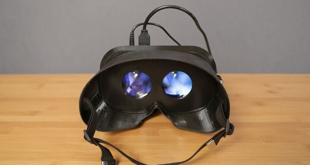 3D Printed Virtual Reality Goggles