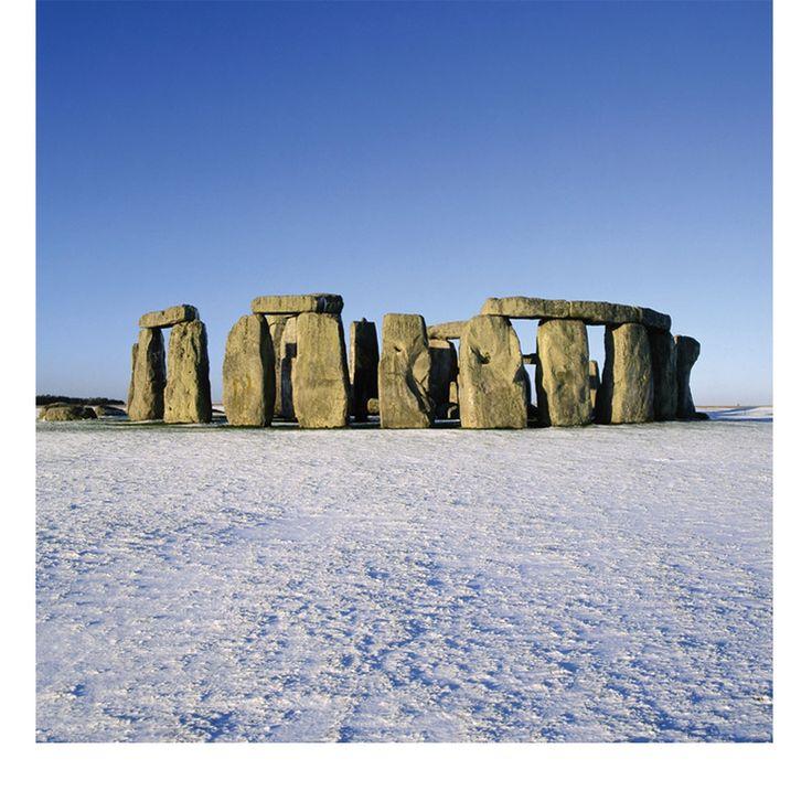 Stonehenge Christmas Cards from English Heritage.