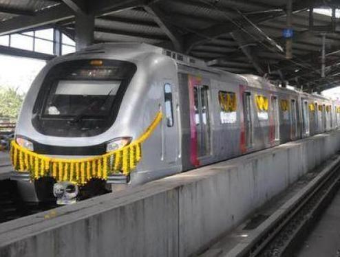 Metro in Mumbai