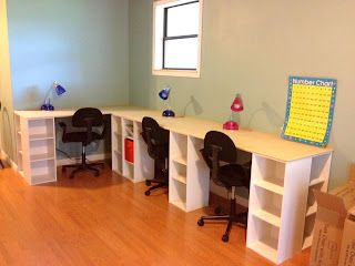 Building Your Homeschool Room: Ideas, Resources, Links.  Great DIY projects on a…