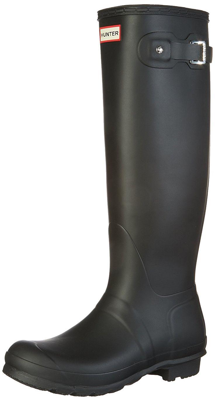 Hunter womens original tall rain boot rain