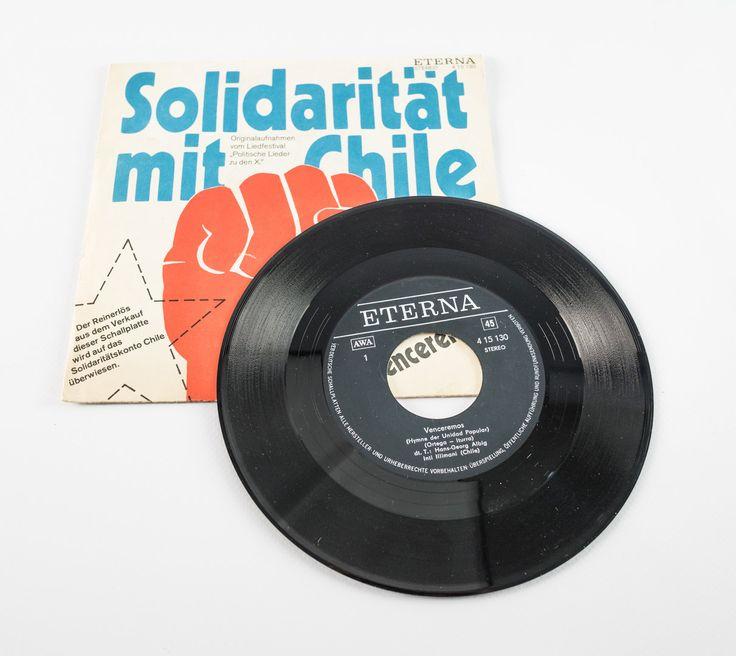 """DDR Museum - Museum: Objektdatenbank - """"Solidarität mit Chile"""" Copyright: DDR Museum, Berlin. Eine kommerzielle Nutzung des Bildes ist nicht erlaubt, but feel free to repin it!"""