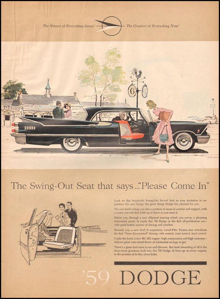 654 best Cars-Vintage Car Ad\'s images on Pinterest | Vintage cars ...