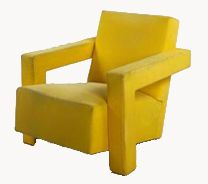 "MINIDESIGN: Rietveld ""Stoel Utrecht"" chair tut"