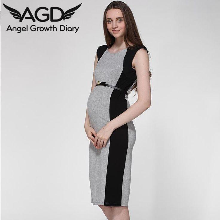 Dress Black Gray Matching Slim Sleeveless Vest Maternity European American FashionHigh Quality Up Chinese GirlChina Games Wedding