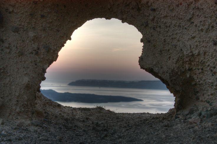 The heart of #Santorini in Megalochori!