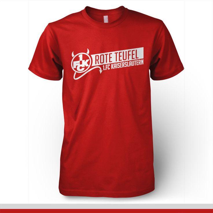 1 FC Kaiserslautern Germany T-shirt Rote Teufel