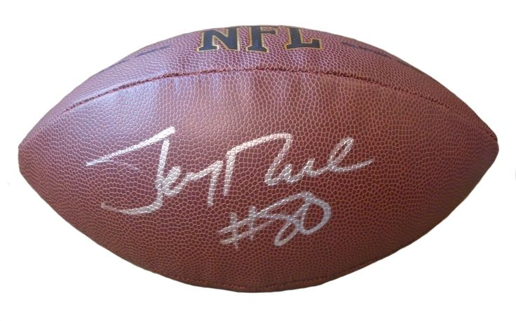 Oakland Raiders Jerry Rice signed NFL Wilson full size football w/ proof photo.  Proof photo of Jerry signing will be included with your purchase along with a COA issued from Southwestconnection-Memorabilia, guaranteeing the item to pass authentication services from PSA/DNA or JSA. Free USPS shipping. www.AutographedwithProof.com is your one stop for autographed collectibles from Oakland / Bay Area sports teams. Check back with us often, as we are always obtaining new items.
