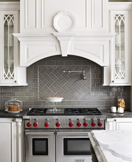 15 kitchen backsplash ideas home decor kitchen stove for Different backsplash behind stove