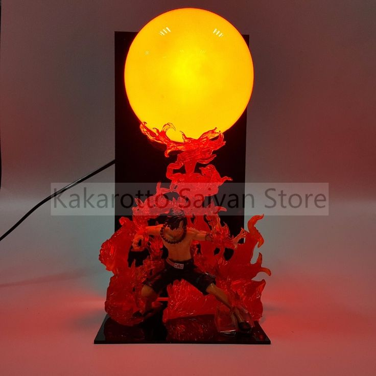 68.77$  Watch here - http://aigor.worlditems.win/all/product.php?id=32797156894 - One Piece ACE Dai EnKai PVC Action Figures 300MM DIY Anime One Piece Figurine Fire Ball Led Bulb Portgas D Ace
