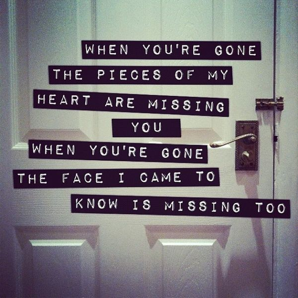 When You're Gone - Avril Lavigne  Pinterest: @Cantevensay