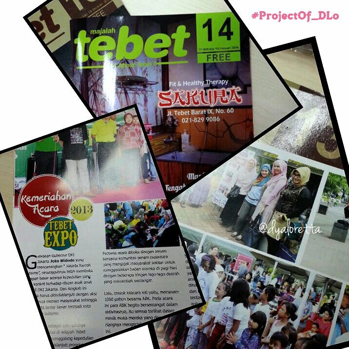 Tetiba jadi jadian juri fashion hahaha.. tebet magazine :D