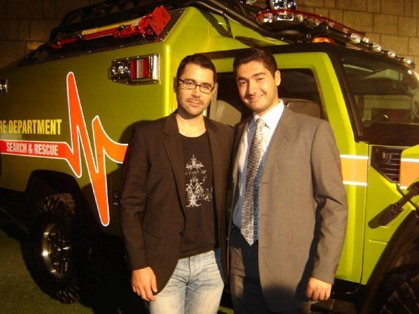 With Lebanese Singer Yuri Mrakadi