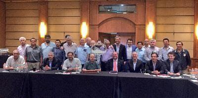 Monterrey, Nuevo León (lmb.com.mx) 1 de noviembre.- La Liga Mexicana de Beisbol (LMB) celebró este martes su Asamblea de Presidentes, durant...