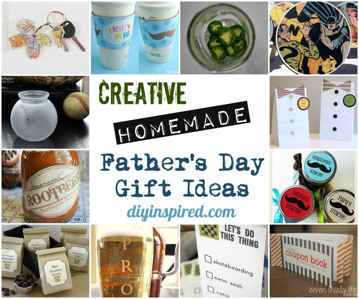 Creative Homemade Father's Day Gift Ideas