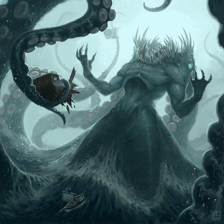 10 best Krakens images on Pinterest   Sea monsters ...
