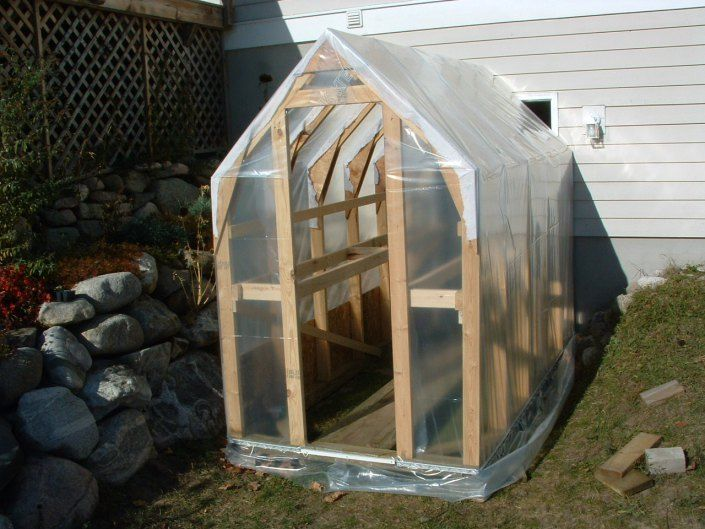 How To Make Your Own Greenhouse Garden Related Pinterest