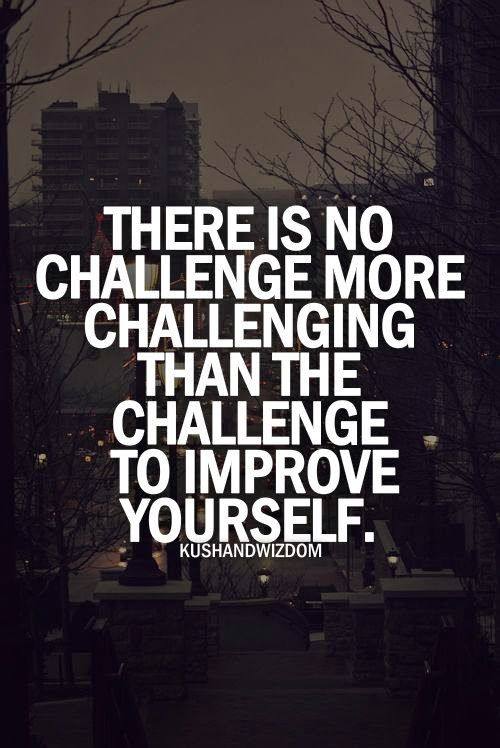 When no one else does it, You have to do it. Challenge! -pic
