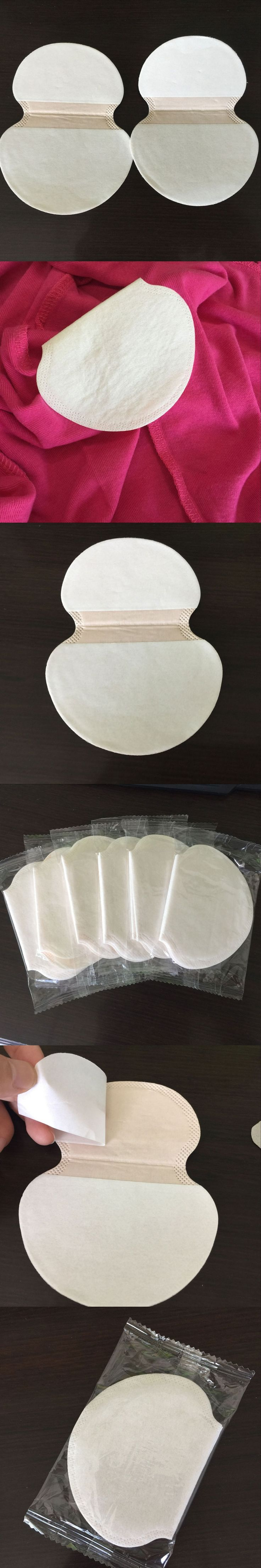 30pcs=15packs Summer Deodorants Underarm Sweat Pads Dress Clothing Perspiration Pads For Women Absorbing Pads For Armpits