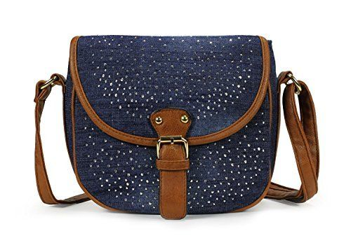 New Trending Cross Body Bags: Scarleton Denim Crossbody Bag H173907 - Blue. Scarleton Denim Crossbody Bag H173907 – Blue  Special Offer: $12.99  311 Reviews The Scarleton Denim Crossbody Bag is a trendy handbag, an ever-ready accessory for work or play, spacious and economically priced. This casual purse has enough room for your cell phone, wallet,...