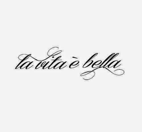 Roberta...Charme and More: La vita è bella