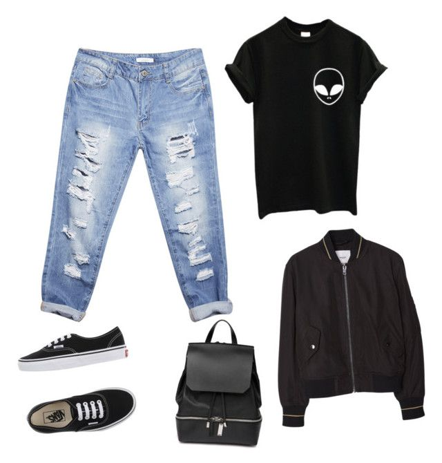 """""""Street style"""" by tereza-99 on Polyvore featuring interior, interiors, interior design, home, home decor, interior decorating, Wet Seal, MANGO, Vans and COSTUME NATIONAL"""