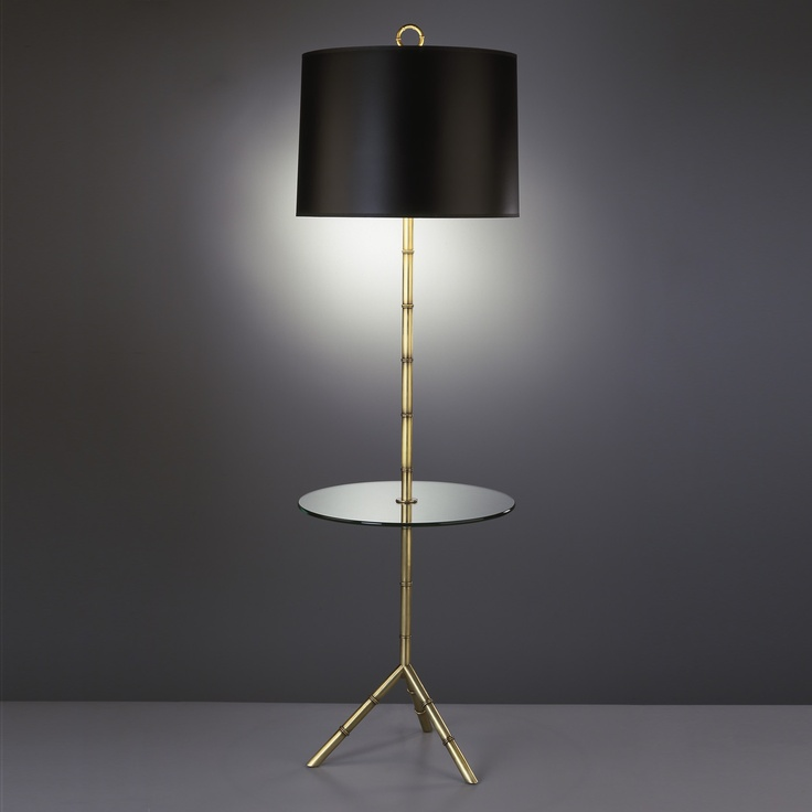 floor lamp with table tray seville swing arm end traditional attached uk