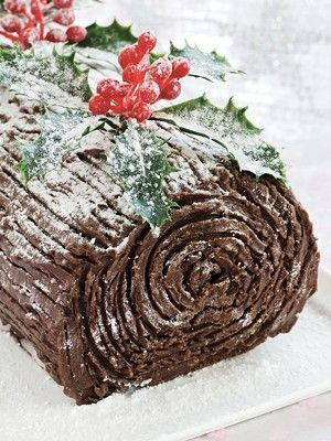Yule log - Christmas essential!