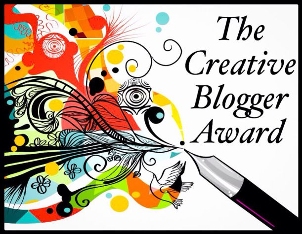 So excited!! - The Creative Blogger Award