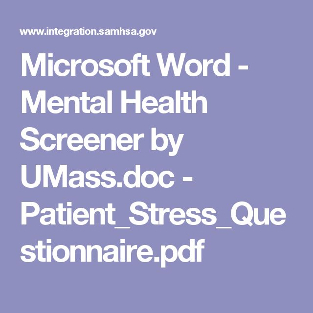 Microsoft Word - Mental Health Screener by UMass.doc - Patient_Stress_Questionnaire.pdf