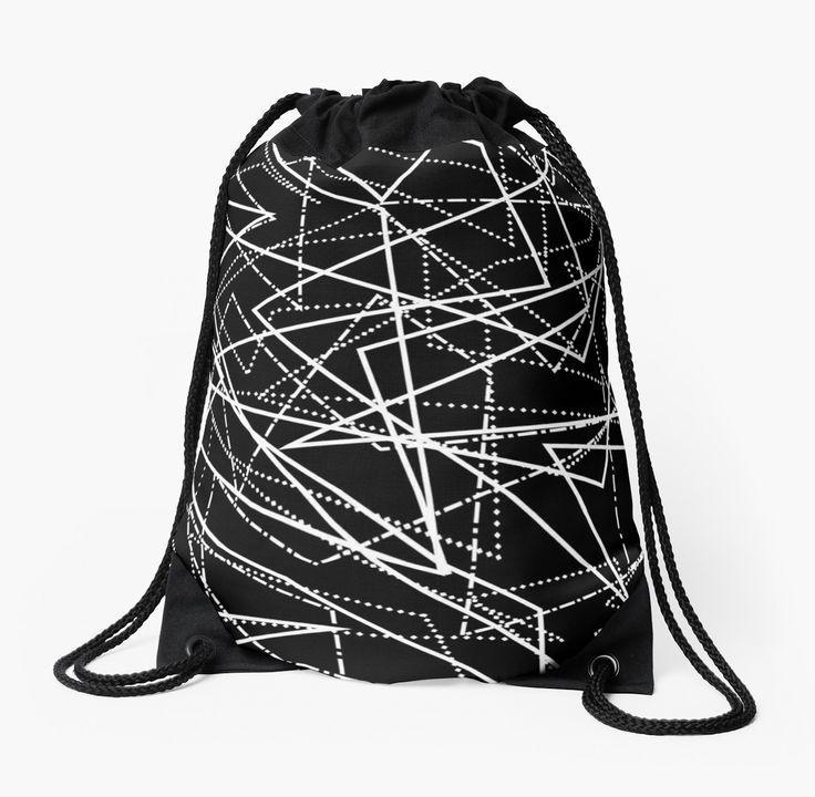 Modern Black & White Abstract