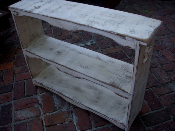 Book Case Wood Furniture Wooden Shelf di honeystreasures