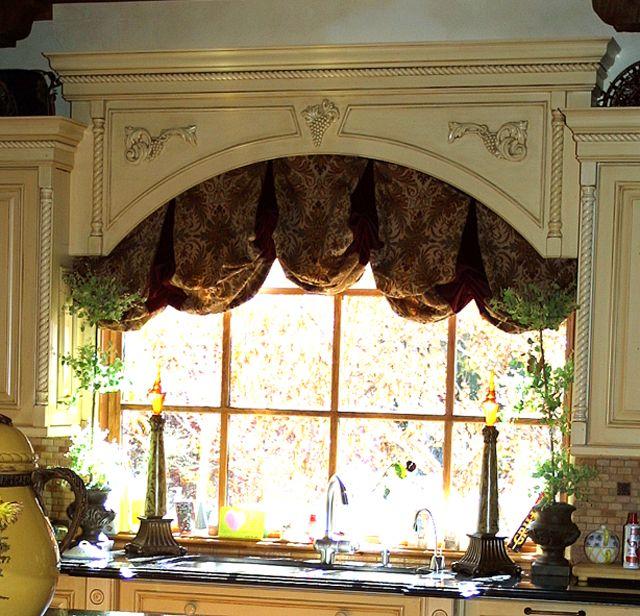 Kitchen Cabinet Valance Ideas: 221 Best Images About Window Treatments On Pinterest