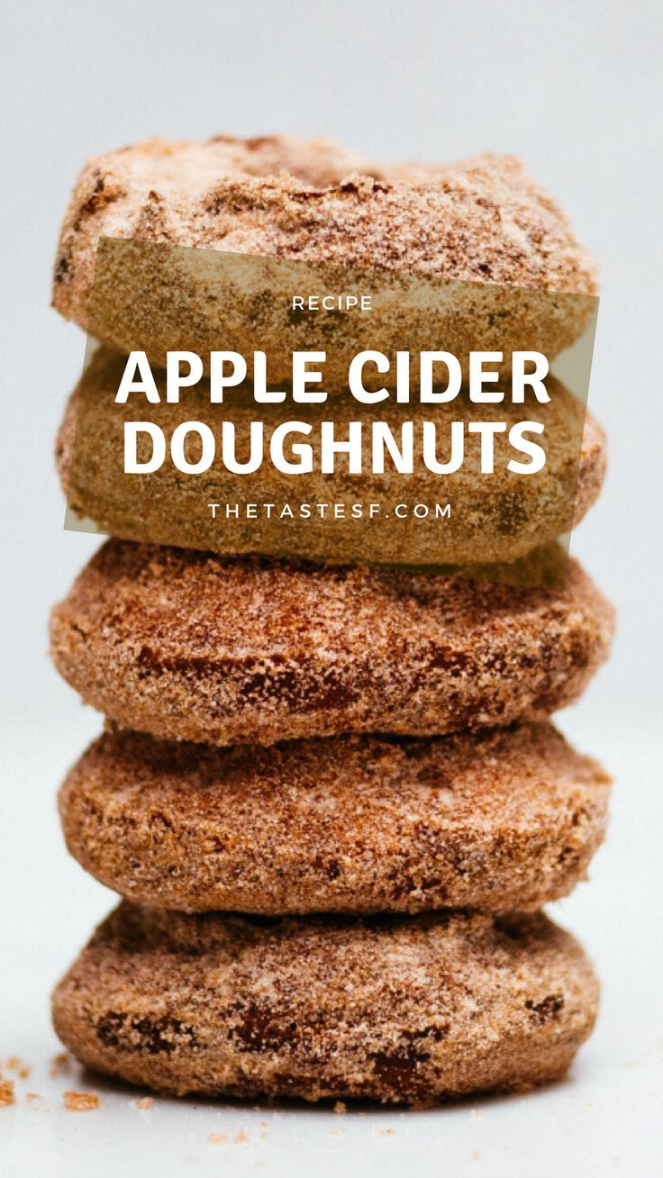 Having lived in the Midwest and New England, apple picking has always beena fall tradition. With apple picking comes apple cider doughnuts. For years, we would travel an hour or so north of Chicago, spend the day picking loadsof apples, and bring home s