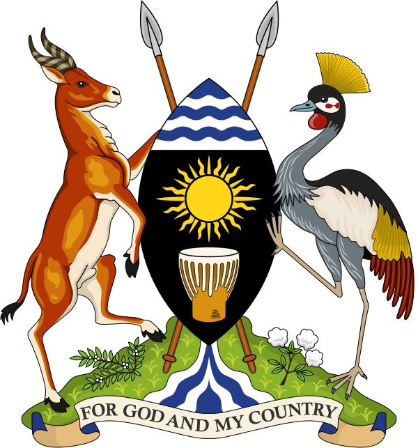 Coat of arms of the Republic of Uganda