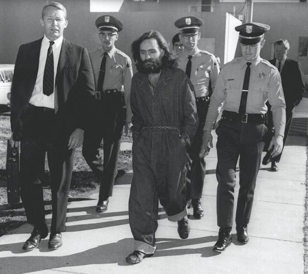 apprehended. Charles Manson, the famous murderer, was apprehended by the police in 1969.