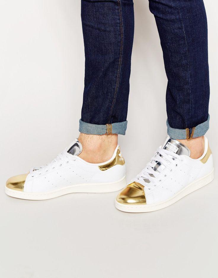 Adidas Originals - Stan Smith homme B24698 baskets métallisées - 74,94€ (promo) @Asos