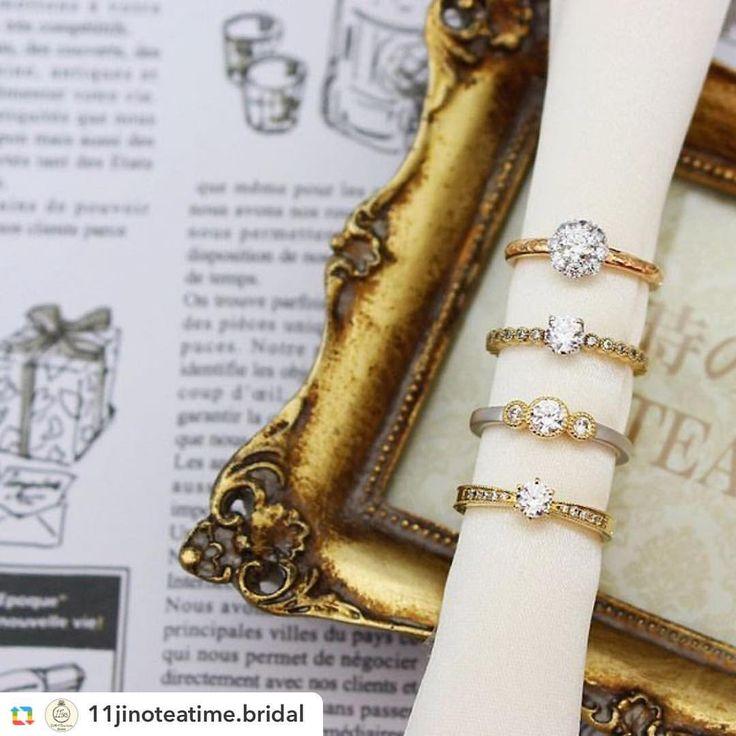 @11jinoteatime.bridal:*** 11時のティータイム 「インスタで見た」というお客様が 多い、当店指名人気ブランドの 「RosettE」(ロゼット)✨✨ * * 大切なあなたへ。たくさんの尊厳と、 たくさんの愛を。 * * #結婚指輪 #婚約指輪 #エンゲージリング #マリッジリング #ブライダルリング #結婚準備 #2016秋婚 #2016冬婚 #2017婚 #11時のティータイム #仙台 #宮城 #仙台プレ花嫁  #プレ花嫁 #RosettE #ロゼット