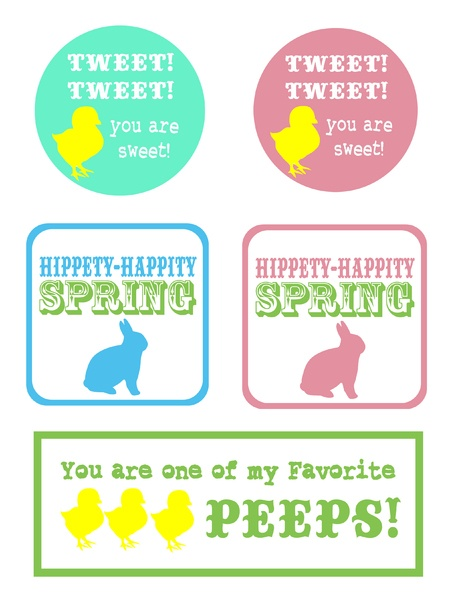 78 best design easter tags images on pinterest easter ideas the cheeky seagull st patricks day gifts and free easter tags these print with no problem negle Choice Image